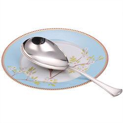 Zilveren rijstschep van Kempen