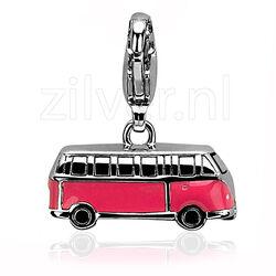 Zinzi charms318 roze bus