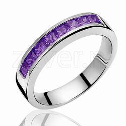 Zinzi Ring Paars Zirkonia Zir510p