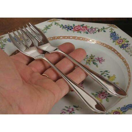 zilveren visvork begeer model puntfilet