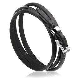 Zinzi Armband Zwart Zilver Zia945z