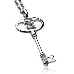 Zinzi hanger sleutel zirkonia Zih637