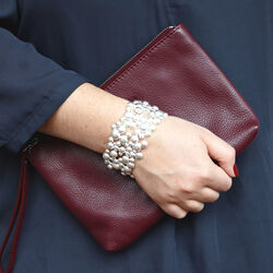 667841 Lapponia zilveren armband winterpearl