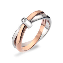 Hot Diamonds ring eternity dr112