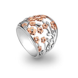 Hot Diamonds ring Blossom DR109 Shades of Spring