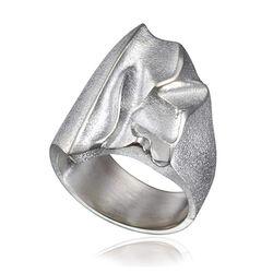 Zilveren ring Kauris van lapponia