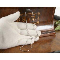 Zinzi zilveren ketting 45 cm