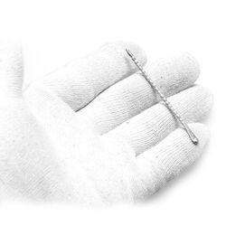 Zilveren peuterlepel of oorlepel