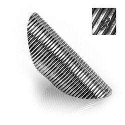Zilveren Naairing Ribpatroon