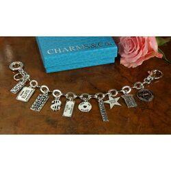 Zilveren bedelarmband Kansas City Raspini Jewelry