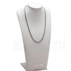 MY iMenso Zilveren agganciata specchio  Collier 27-0027-45