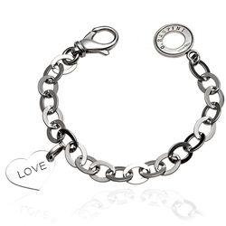 Zilveren armband met hartje van Raspini