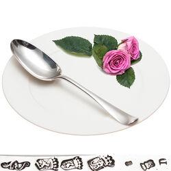 Antieke Dinerlepel Zilver