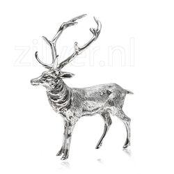 Zilveren Tafelstuk Hert