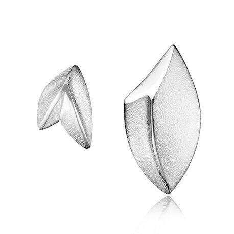 Lapponia zilveren oorstekers Eden Mirror 672789
