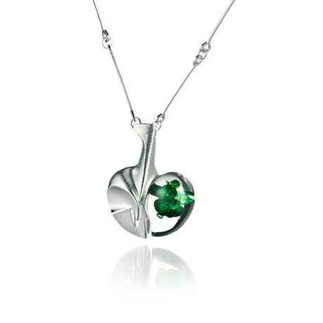 Lapponia ketting space apple groen 660033g