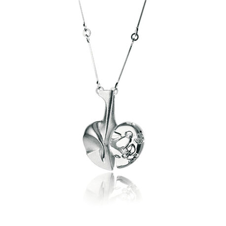 Lapponia ketting space apple wit 3828866