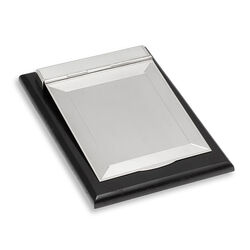 zilver notitieblokhouder