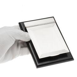 Zilveren Notitieblokhouder