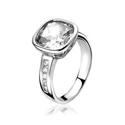 ZInzi ring ZIR978 met groot zirkonia