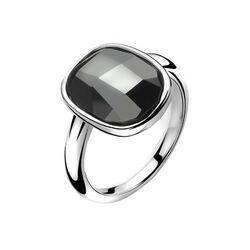 Zilveren ring met groot facet Swarovski ZIR1007z van Zinzi