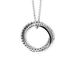 Zilveren ring of hanger zir2009 zinzi