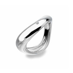 Hot Diamonds Ring Go With The Flow Dr114