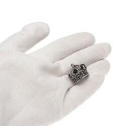 Zilveren hanger kroon Raspini