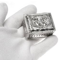 zilveren snuifdoos 18e eeuws antiek zilver