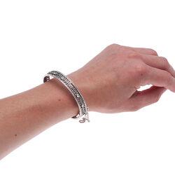 Gl Armband Swarovski Kristallen Bloemen