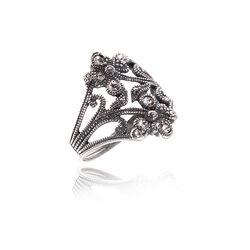 Ring Swarovski Kristal Bloemen