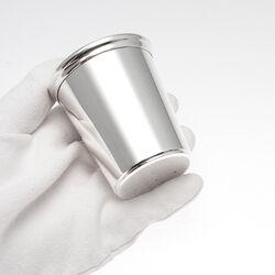 Zilveren doopbeker baby beker glad strak modern