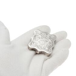 Antiek Zilveren Pepermuntdoosje