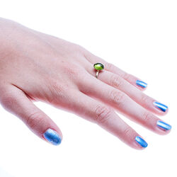 Gouden ring peridot Superoro