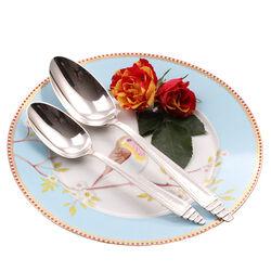 Zilveren Dinerlepel & Dessertlepel