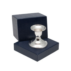 klein zilveren kandelaartje met een filetrand