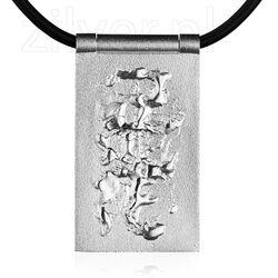 Lapponia collier met zilver hanger Secret Silver