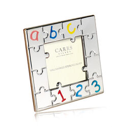 Carrs fotolijstje puzzelstukjes