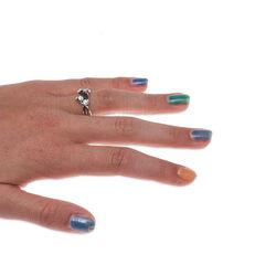 Gl Collectie Zilveren Ring Bloemknoppen