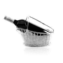 Verzilverde Rode Wijn Flessenhouder