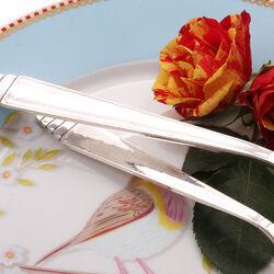 Zilveren dinerlepel en dessertlepel Begeer