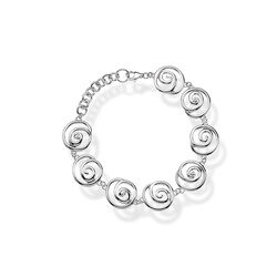Zilveren armband Eternity Spiral Hot Diamonds