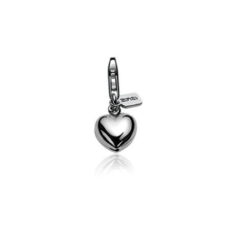 Zilveren charms hartje van Zinzi ch1 charms1