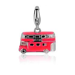 Zinzi charm rode dubbeldekker Ch323