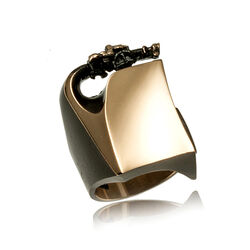 Bronzen ring Lapponia Klimm Sormus Flame Bronze
