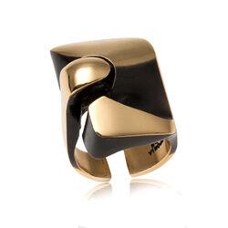 Lapponia ring Scarab Sormus Flame Bronze