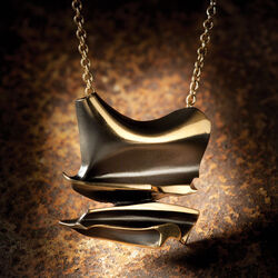 Lapponia Flame Bronze collier Daytona