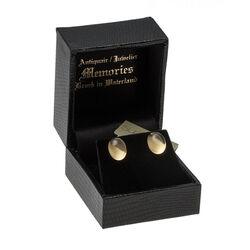 Gouden oorbellen citroen quartz