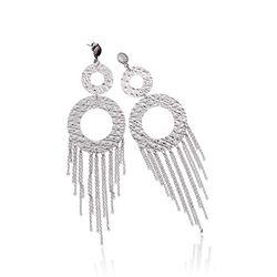 Raspini lange oorhangers chandelier