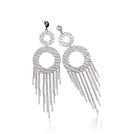 Raspini lange oorbellen chandelier